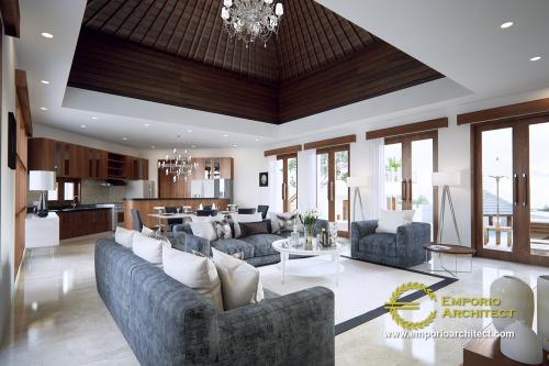 Desain Interior Desain Villa Style Villa Bali 2 Lantai Ibu Ni Luh