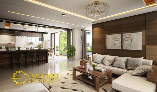 Desain Interior Desain Rumah Hook Villa Bali 3 Lantai Bapak Abdul