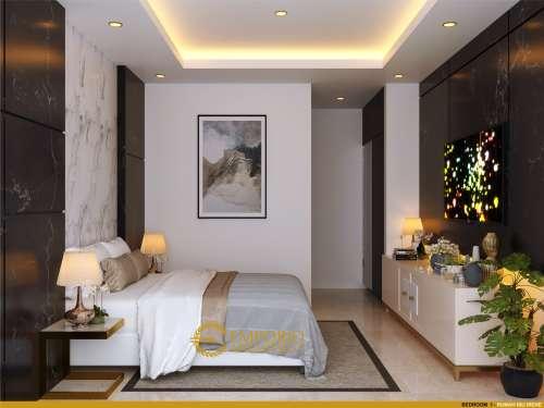 Interior Design Mrs. Irene Modern House 2 Floors Design - Badung, Bali