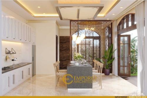 Interior Design Mr. Agus Mediteran House 2 Floors Design - Balikpapan