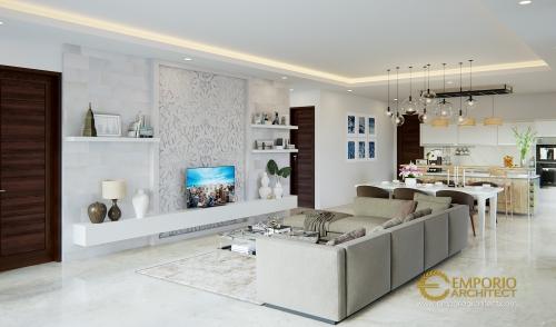 Desain Interior Desain Rumah Villa Bali 1 Lantai Bapak Malvin