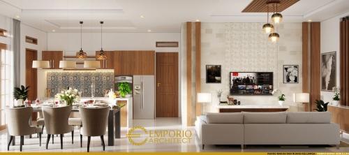 Interior Design Mr. Abdullah Classic House 1 Floor Design - Bandung