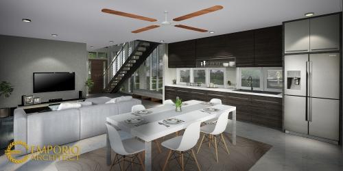 Desain Interior Desain Rumah Modern 2 Lantai Bapak Fajar