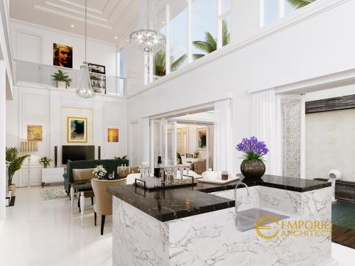 Desain Interior Desain Rumah Classic 2 Lantai Mr. S