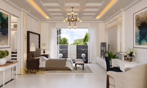 Interior Design Mr. S Classic House 2 Floors Design - Bandung