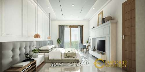 Interior Design Mrs. Istia Modern House 3 Floors Design- Bandung