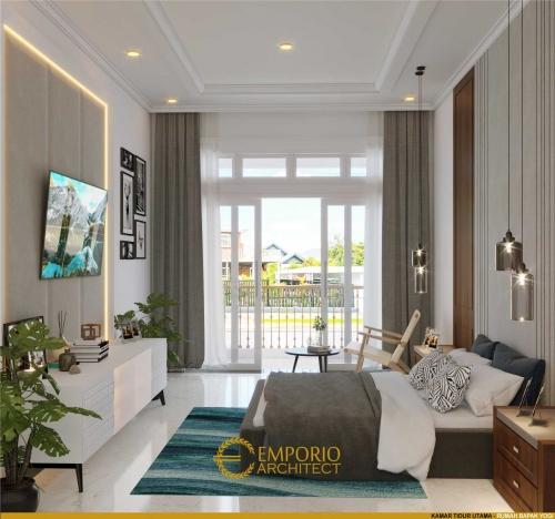 Desain Interior Desain Rumah Classic 2 Lantai Bapak Yogi