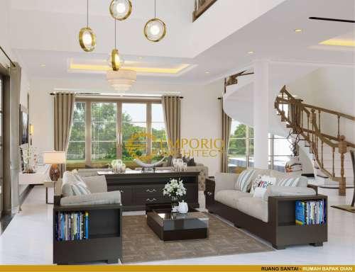 Interior Design Mr. Dian Classic House 2 Floors Design - Bandung, Jawa Barat