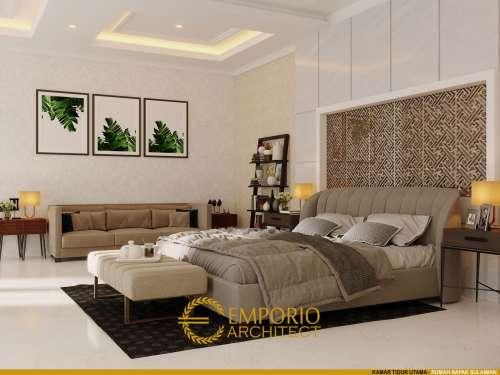 Interior Design Mr. Sulaiman Classic House 3.5 Floors Design - Bandung, Jawa Barat