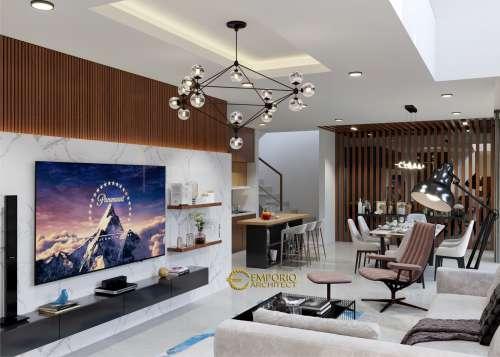 Interior Design Mr. Ruli Modern House 3 Floors Design - Bandung, Jawa Barat