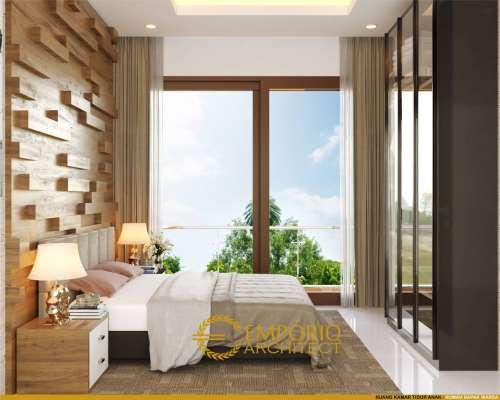 Interior Design Mr. Warsa Villa Bali House 2 Floors Design - Bandung
