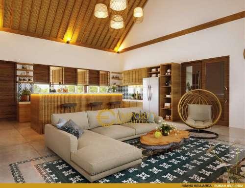 Interior Design Mrs. Linda Uniq House 1 Floor Design - Banyuwangi, Jawa Timur