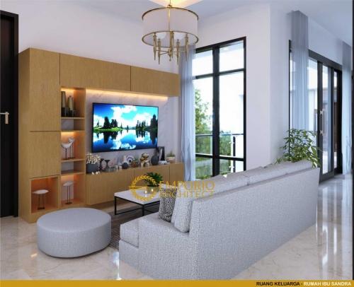 Desain Interior Desain Rumah Modern 2 Lantai Ibu Sandra