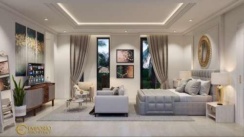 Desain Interior Desain Rumah Classic 2 Lantai Bapak Rusdi