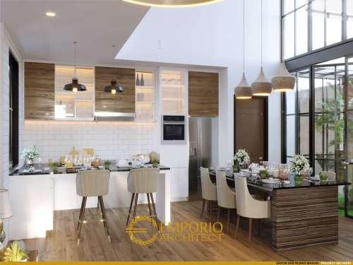 Interior Design Mrs. Indri Modern House 3 Floors Design - Bekasi, Jawa Barat