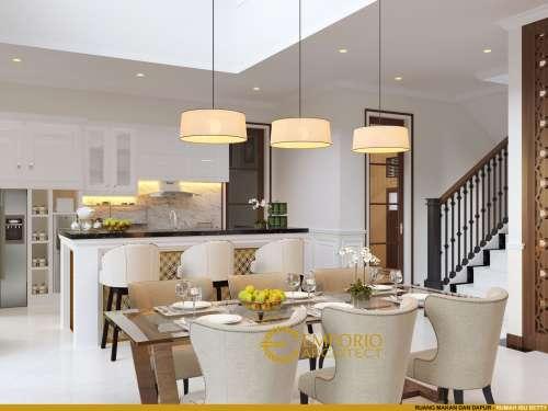 Desain Interior Desain Rumah Classic 2 Lantai Ibu Betty