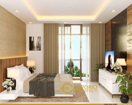 Interior Design Mr. Indra Villa Bali House 2 Floors Design - Bintaro, Tangerang Selatan, Banten