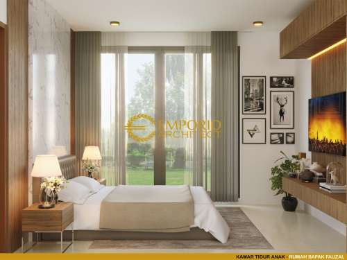 Interior Design Mr. Fauzal Villa Bali House 2 Floors Design - Bireuen, Aceh