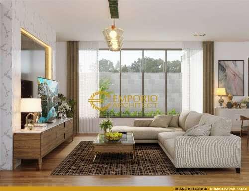 Interior Design Mr. Fatah Modern House 2 Floors Design - Blora, Jawa Tengah