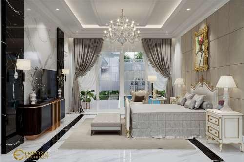 Interior Design Mr. Paul Classic House 2 Floors Design - Bogor, Jawa Barat