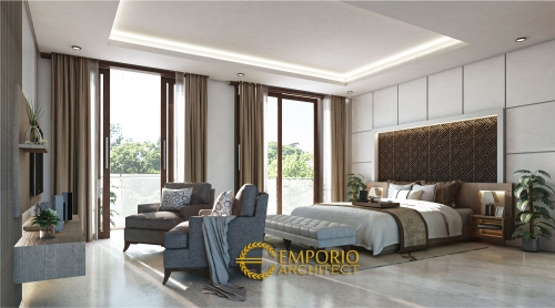 Interior Design Mr. Hasan Villa Bali House 2 Floors Design - Bogor, Jawa Barat
