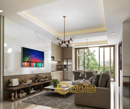 Interior Design Mr. Ilham Villa Bali House 3 Floors Design - Bogor, Jawa Barat