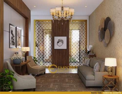 Interior Design Mrs. Jeanette Modern House 2.5 Floors Design - Bogor, Jawa Barat
