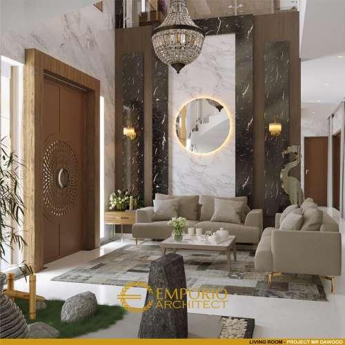 Interior Design Mr. Dawood Villa Bali House 2 Floors Design - Brunei Darussalam