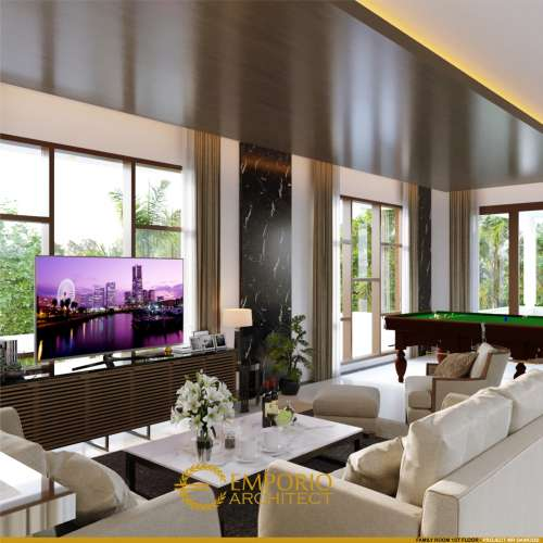 Interior Design Mr. Dawood Villa Bali House 2 Floors Design - Brunei Darussalam