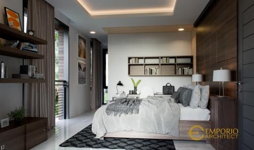 Interior Design Mrs. Kayla Modern House 3 Floors Design - BSD, Tangerang Selatan