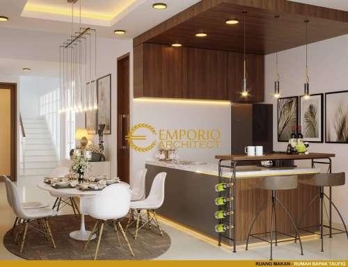 Interior Design Mr. Taufiq Modern House 2 Floors Design - Bukittinggi, Sumatera Barat