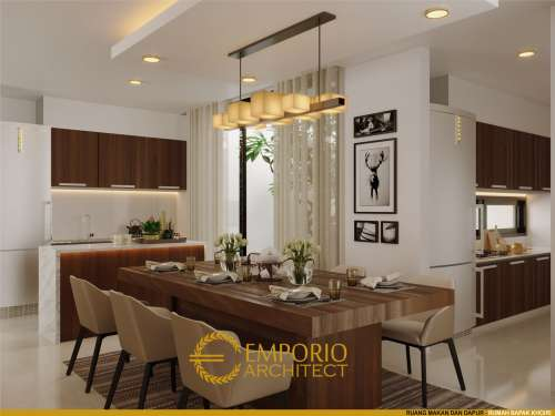 Interior Design Mr. Khoiri Modern House 2.5 Floors Design - Cibubur, Bekasi