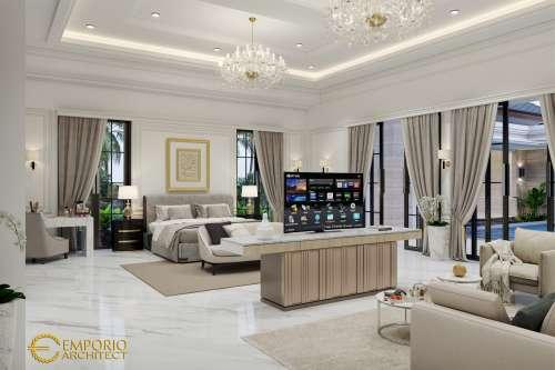 Interior Design Mrs. Diana Classic House 2 Floors Design - Cibubur, Jakarta Timur