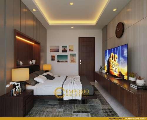 Desain Interior Desain Rumah Hook Villa Bali 2.5 Lantai Bapak Arief