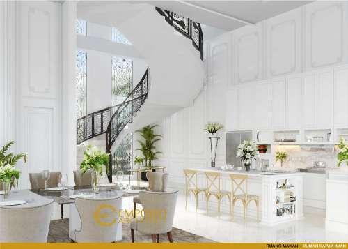 Desain Interior Desain Rumah Classic 2 Lantai Bapak Iwan