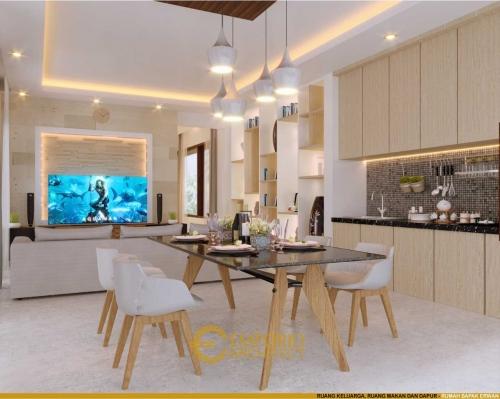 Desain Interior Desain Rumah Villa Bali 3 Lantai Bapak Erwan