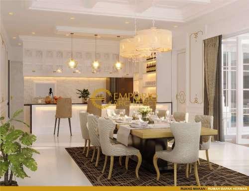 Interior Design Mr. Herman Classic House 3 Floors Design - Denpasar, Bali