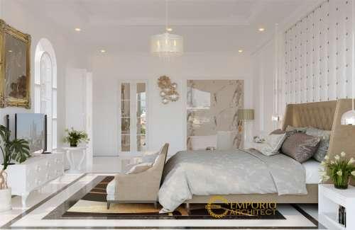 Desain Interior Desain Rumah Mediteran Classic 2 Lantai Ibu Dokter Lia