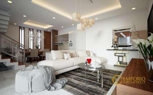 Desain Interior Desain Rumah Modern 2 Lantai Bapak Iskandar