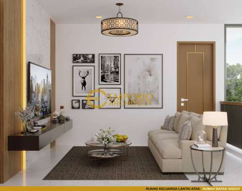 Interior Design Mr. Anggi Modern House 3 Floors Design - Depok, Jawa Barat