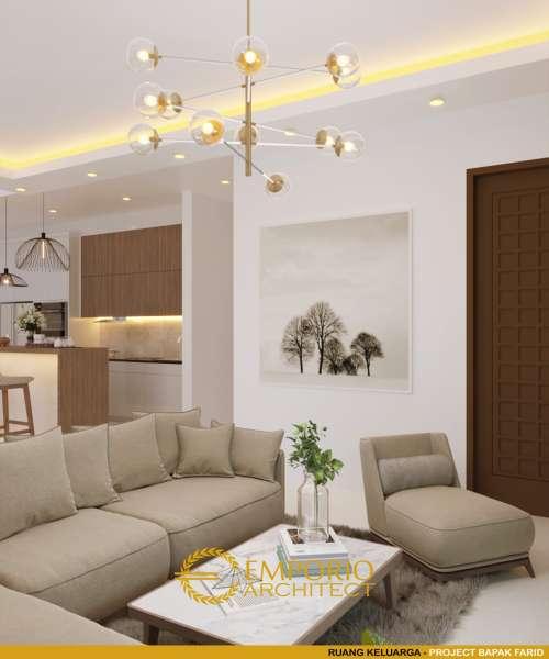 Interior Design Mr. Farid Villa Bali House 2 Floors Design - Depok, Jawa Barat