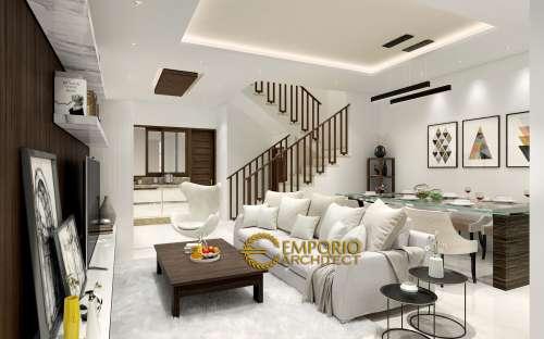 Interior Design Mr. Alvin Modern House 3 Floors Design - Sunter, Jakarta
