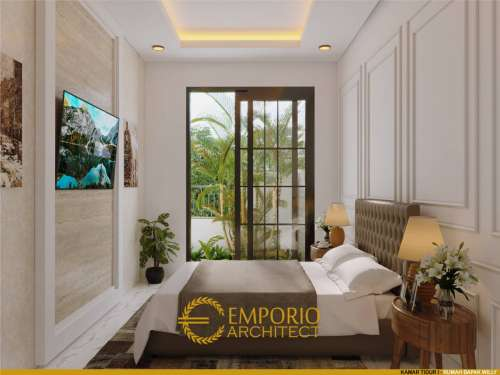 Interior Design Mr. Willy Classic House 2 Floors Design - Flores, Nusa Tenggara Timur