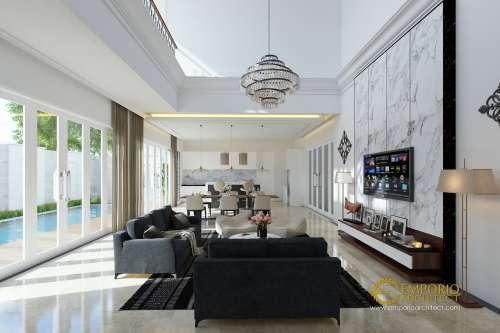 Interior Design Mrs. Ayu Classic House 2 Floors Design - Pantai Saba, Gianyar
