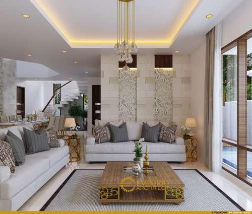 Desain Interior Desain Rumah Villa Bali 2 Lantai Mr. Vaibhav dan Mr. Nilesh