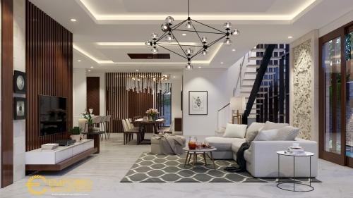 Desain Interior Desain Rumah Modern 2 Lantai Bapak Hayadi