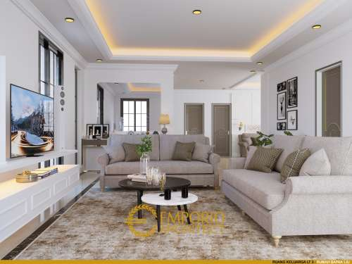 Desain Interior Desain Rumah Hook Classic 3 Lantai Bapak Liu
