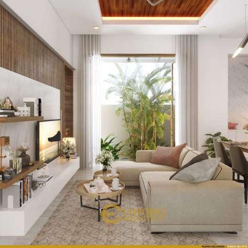 Interior Design Mrs. Rita Villa Bali House 2 Floors Design - Jakarta Barat