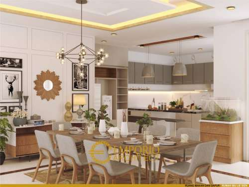 Interior Design Mrs. Lie Sien Modern House 3 Floors Design - Jakarta Barat