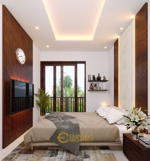 Interior Design Arya Green Pamulang Villa Bali Residence width 6 m by Abipraya Properti 2 Floors Design - Jakarta